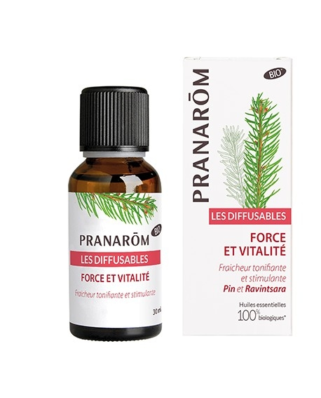 Pranarôm - Organic Diffusion Blend Strenght and Vitality